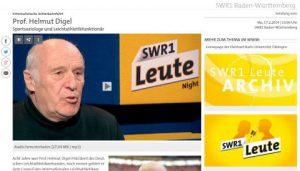 Screenshot Sendung vom 17.02.2014- SWR1