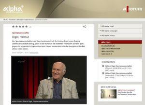 Screenshot Sendung vom 14.06.2014- BR-alpha